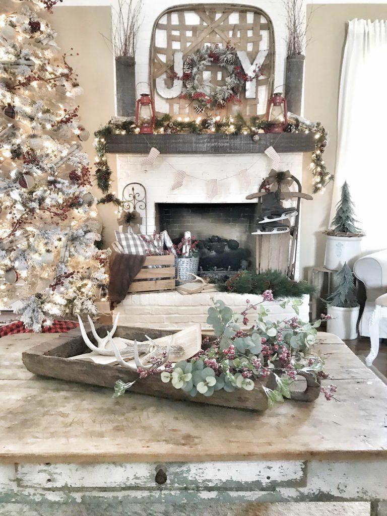 Christmas Tree Flocked