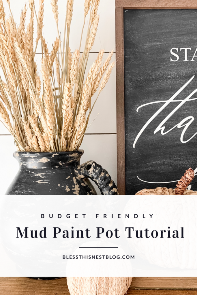mud paint pot tutorial blog banner